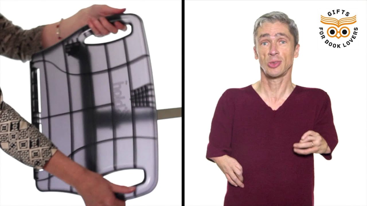 the hold it is the ideal book holder for disabled people youtube