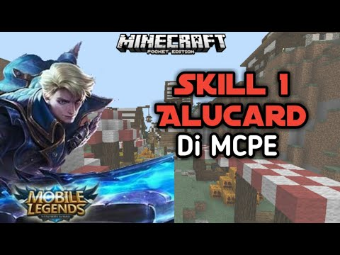 Skill 1 Alucard Di MCPE!! - Command Block Tutorial - Minecraft PE Indonesia