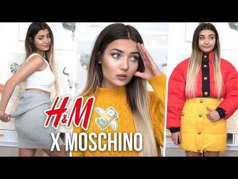 I SPENT £600 ON H&M X MOSCHINO! WTF DID I EVEN BUY...
