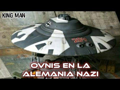 Ovnis y naves espaciales inventadas por la Alemania Nazi junto a bases subterráneas en la Antártida