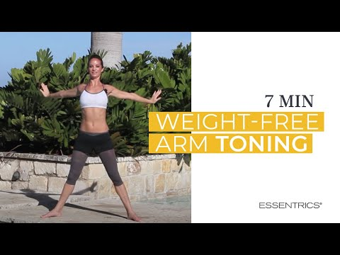 Essentrics weight free arm toning