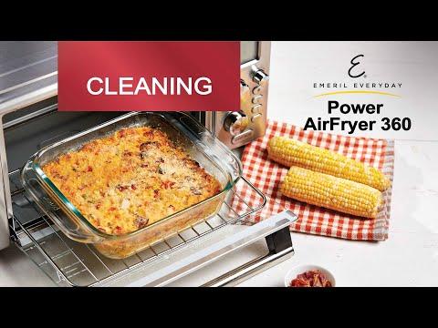 Air Fryer Cleaning & Maintenance   Emeril Power AirFryer 360