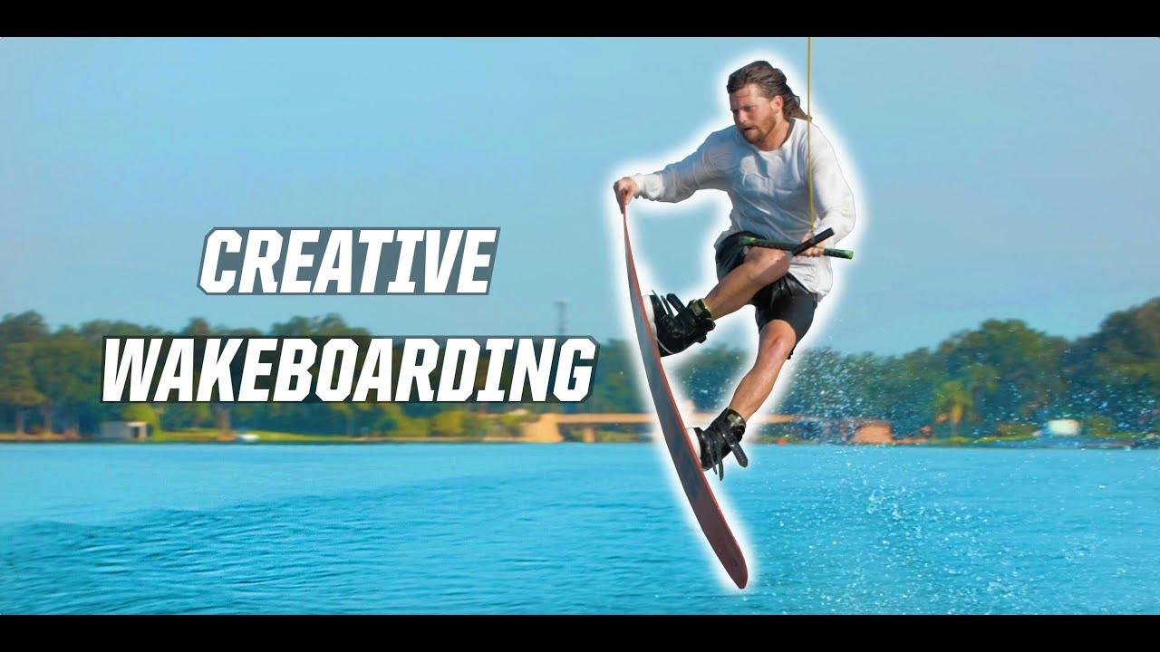 CREATIVE WAKEBOARDING!