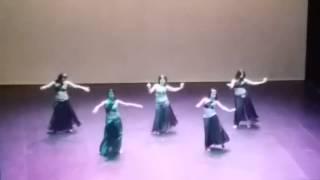 """Noyeleh Danze Orientali di Marta Pisano """" Soheir Zaki """" -Teatro Massimo - Cagliari 2015"""