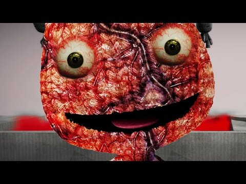 PLAY.CREATE.DIE SACKBOY.EXE CREEPYPASTA - Little Big Planet 3 (LittleBigPlanet)