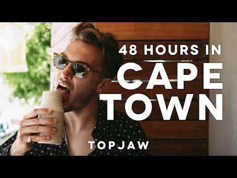 48 HOURS IN CAPE TOWN - ft. Lions Head, Croissant Fried Chicken Burger & Orphanage Cocktails