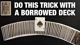 This Ridiculous IMPROMPTU Card Trick FOOLS Everyone!