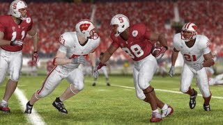 2013 Rose Bowl Sim featuring Stanford and Wisconsin
