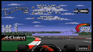Newman-Haas Indy Car Featuring Nigel Mansell SNES - Arcade Single Race - Surfers Paradise