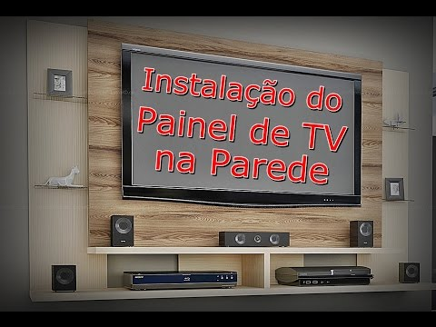 Installing TV panel in the wall - How to Hang TV Panel - Panel TV Caemmun Domain - FVM