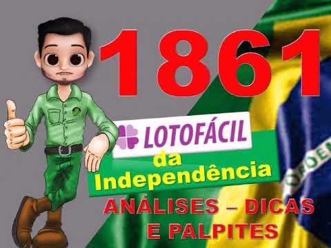 Lotofacil 1861 Dicas Analises E Palpites Youtube