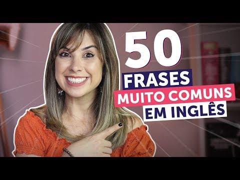 50 FRASES ESSENCIAIS EM INGLÊS (em 10 minutos!) | Inglês para Iniciantes