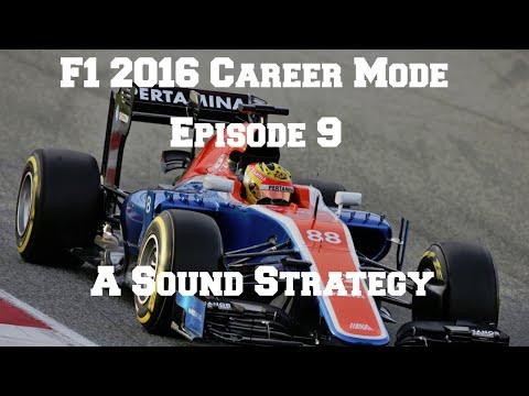 F1 2016 Career Mode Episode 9 - A Sound Strategy (100% Austrian Grand Prix)
