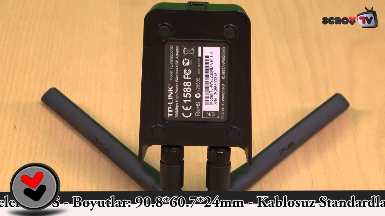 TP-Link TL-WN8200ND USB Adapter İnceleme - SCROLL - YouTube