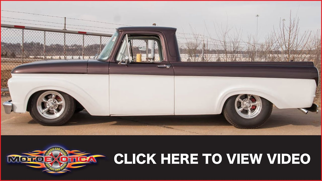 1961 Ford F100 Unibody Sold Youtube
