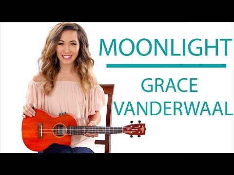 """""""Moonlight"""" by Grace VanderWaal - Fingerpicking and Chords Ukulele Tutorial"""