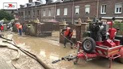 BARENTIN : Importante coulée de boue, 17 familles évacuées