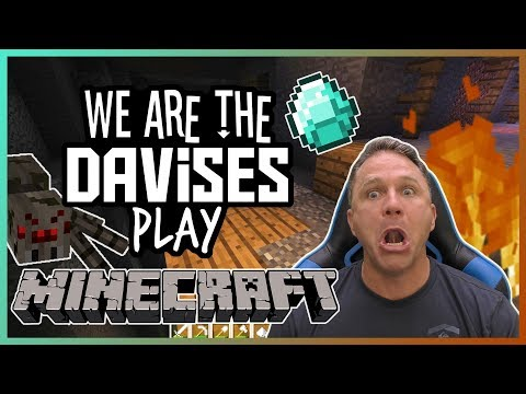 Mining Madness | Minecraft EP-8 | We Are The Davises Gaming