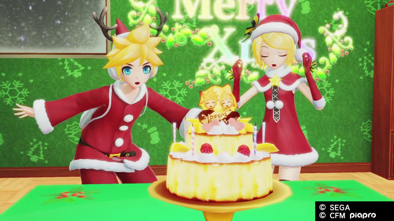Hatsune Miku Project Diva X Rin And Len Kagamine Birthday Event