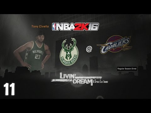 NBA 2K16 : MyCAREER : E11 Riding the Pine