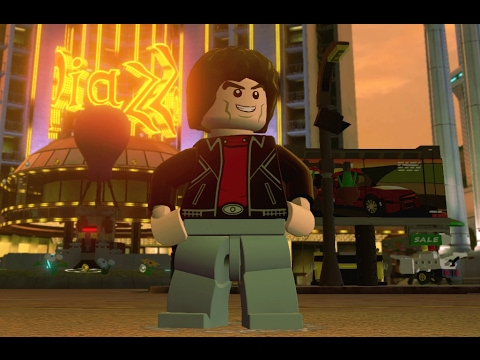 LEGO Dimensions - Michael Knight Character Showcase (Knight Rider World)