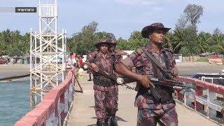 মিয়ানমারের চক্রান্ত মোকাবিলায় সেন্টমার্টিনে বিজিবি'র টহল জোরদার   BGB   Somoy TV