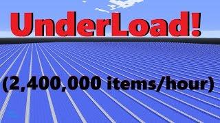 UnderLoad! (2,400,000 items/h) hostile mob farm- 1.13-1.11 Vanilla Survival | Ray's Works