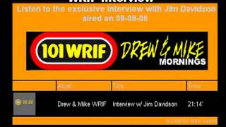 101 WRIF Detroit Drew & Mike TUBE BAR Prank Calls Interview