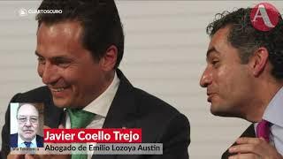 Lozoya no entró pobre a Pemex: abogado Javier Coello