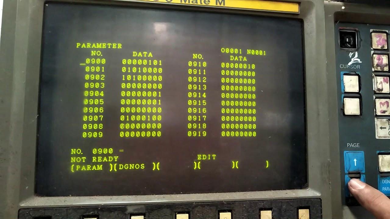 Load Parameter Cnc machine Fanuc OM เรื่องง่าย ๆ