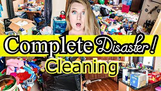 HOARDER CLEANING FOR DAYS! WHOLE HOUSE CLEAN WITH ME 2019! CLEANING MOTIVATION! LIVING WITH CAMBRIEA