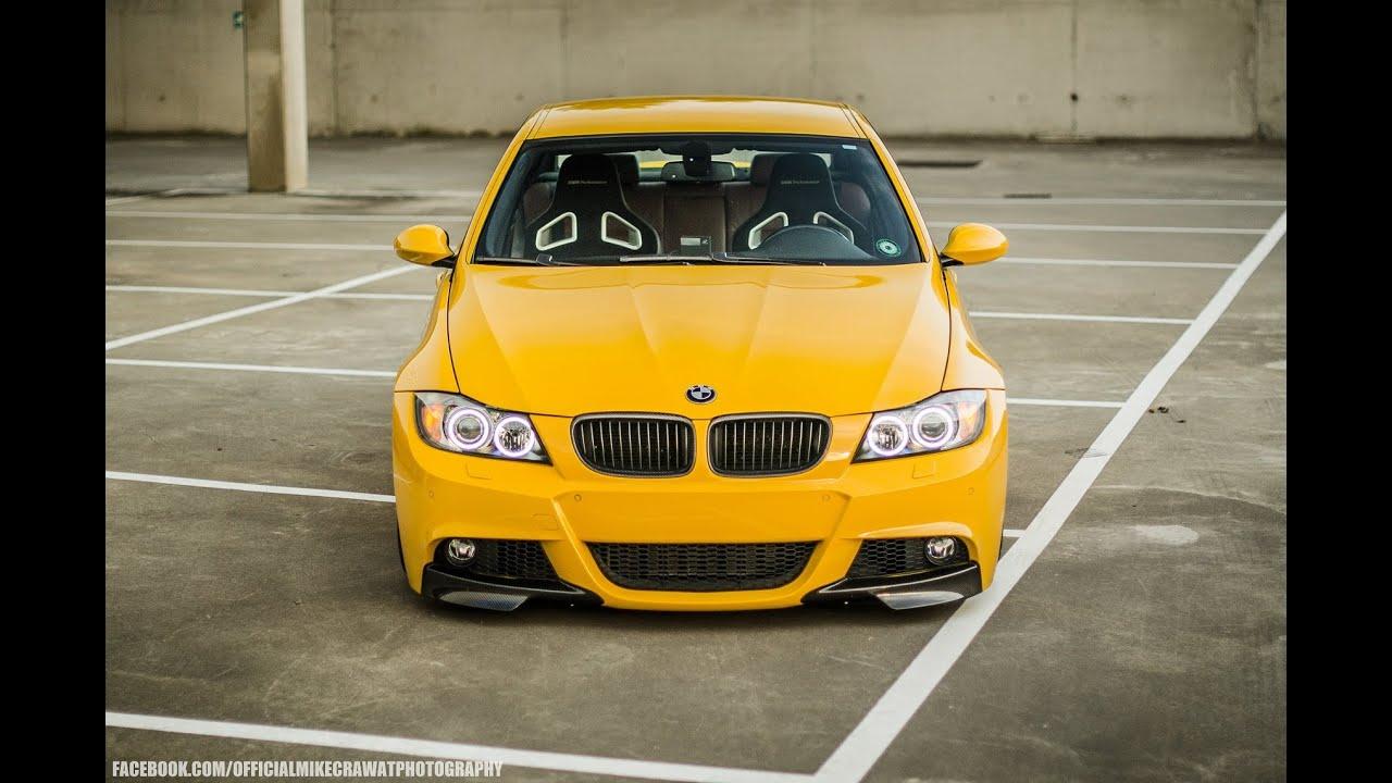 2017 Bmw 335i >> Preview BMW E90 - Vossen Wheels & Accuair Suspension - YouTube