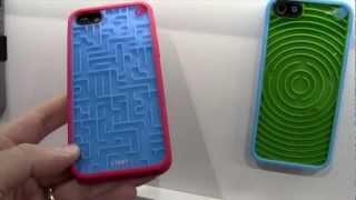 Pure Gear Retro Gaming Cases for iPhone 5 - CES 2013