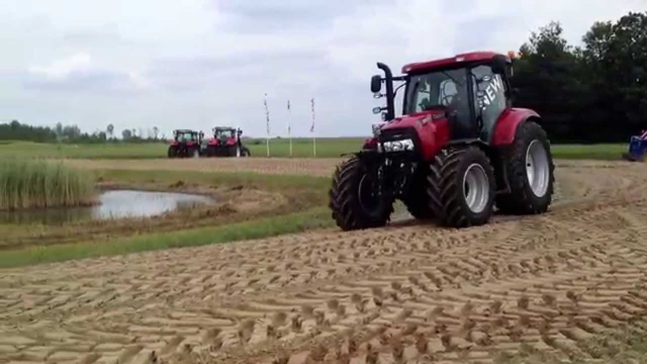 New Case-ih Maxxum Cvx 130 In Holland
