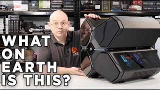 DeepCool QuadStellar Case Review - the HUGE ALIEN CASE with MOVING PANELS!