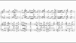 György Ligeti - Three Pieces for Two Pianos [1/3]