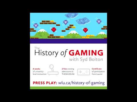 Wilfrid Laurier University History of Gaming Course Interview on CHML