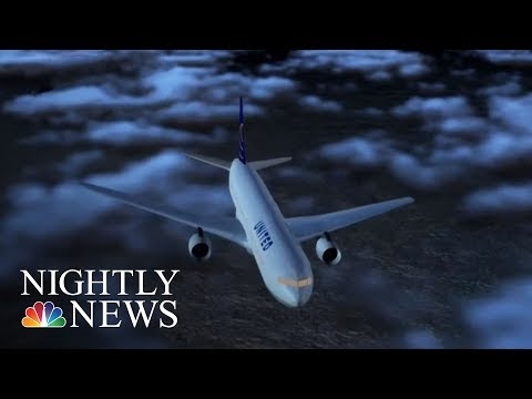 More Than 10 Passengers Injured By Severe Turbulence On Houston Flight | NBC Nightly News