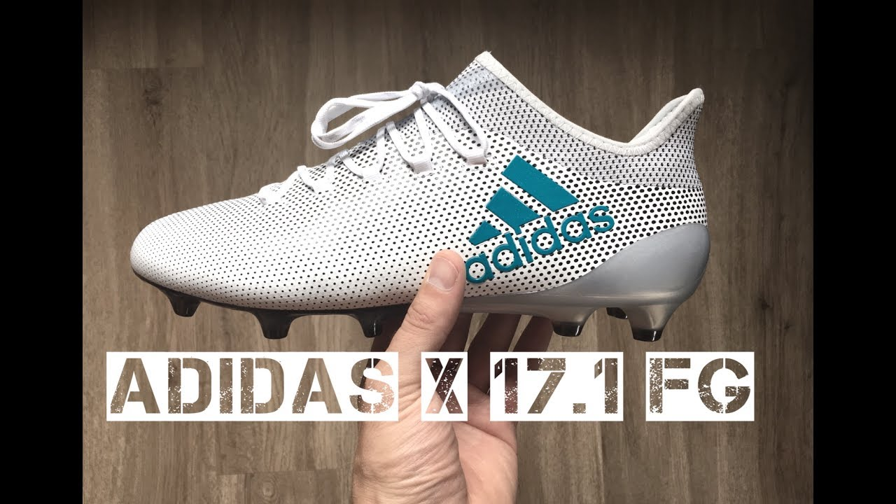 cdf86979f7b4 Adidas X 17.1 FG 'White/Energy Blue/Clear Grey ' | UNBOXING | football  boots | 2017 | HD