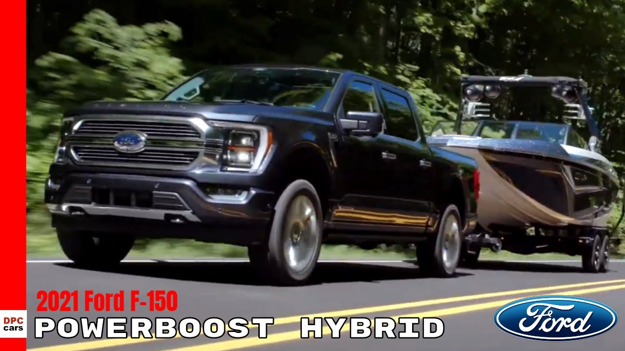 2021 Ford F 150 Limited Powerboost Hybrid - YouTube
