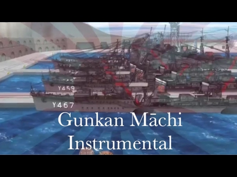 High School Fleet - Yokosuka Girls' Marine High School - Gunkan Māchi  - Instrumental