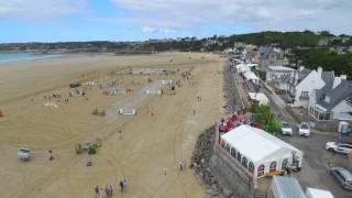 jumping Erquy  plage de Caroual samedi 12 septembre 2015 drone dji inspire1