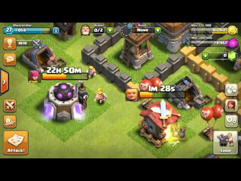 CLASH OF CLANS★DONATED TROOPS DISAPPEAR★