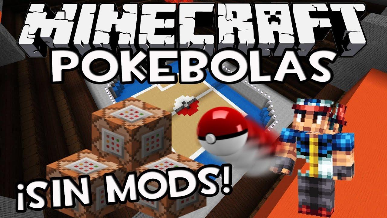 Minecraft snapshot 1 8 como hacer pokebolas sin mods - Decoraciones para minecraft sin mods ...