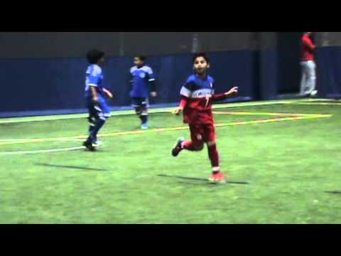 "Brandon's 1st Game ""Chelsea Piers Soccer League U8/9 Stamford"" 9 - 0"