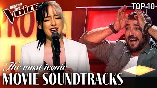 The most ICONIC Movie Songs on The Voice | Top 10