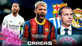 KUN, dispuesto a TODO por el BARÇA | ¡Comienzan CASTIGOS de la UEFA! | Se le acaba el TIEMPO a RAMOS