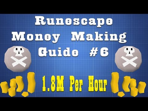 1.8M Per Hour!! Easy money, Low Requirements!! [07 Runescape] Episode 6