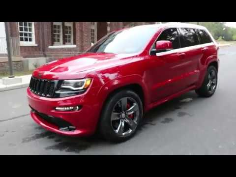 Superior 2015 Jeep Grand Cherokee SRT8 For Sale~Rare Vapor Pkg Finished In Redline  2~VERY VERY RARE!!