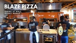 Blaze Pizza   Full Dining Experience   Disney Springs   Walt Disney World